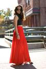Bebe-skirt-forever21-top