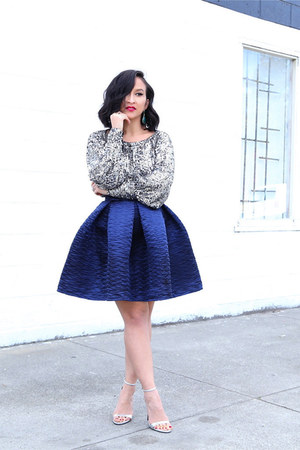 KTRcollection skirt - Trina Turk top