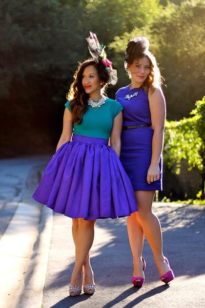 KTRcollection skirt - Valentino pumps