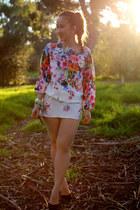 floral dress Zara dress
