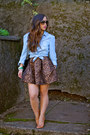 Leopard-zara-skirt-schutz-shoes-heels
