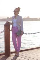 tan blazer H&M blazer - H&M pants