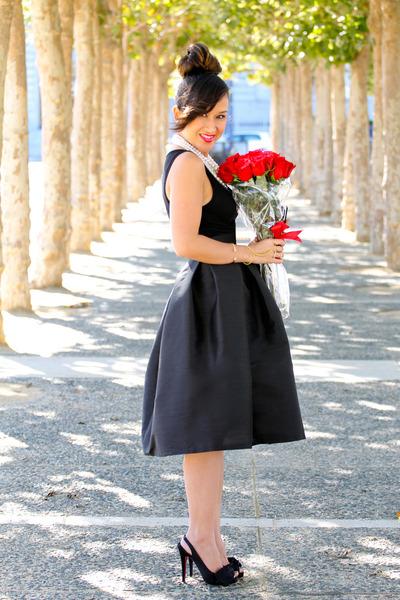 black midi full KTRcollection skirt