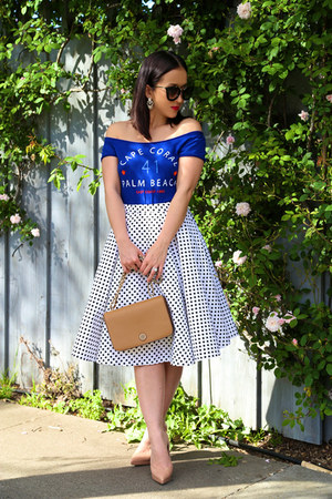 KTRcollection skirt - cat eye Prada sunglasses