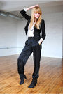Forever-21-pants-h-m-blazer-vintage-accessories