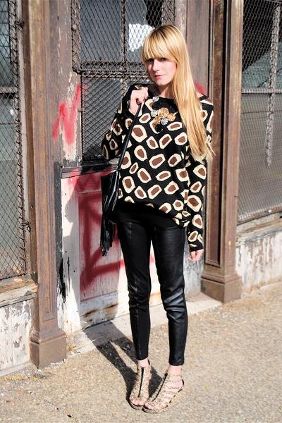 H&M shoes - H&M pants - H&M sweater
