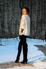 Black-boots-black-forever-21-pants-silver-forever-21-blazer-black-h-m-hat