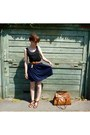 Brown-h-m-bag-black-h-m-top-navy-h-m-skirt-brown-h-m-sandals