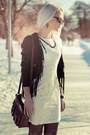 Black-leather-jacket-white-lace-kristines-collection-dress