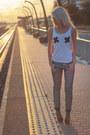 Silver-only-jeans-vero-moda-blazer-scarf-vagabond-wedges-top