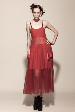 red Kahri by KahriAnne Kerr dress