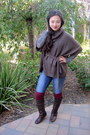 Riding-aldo-boots-h-m-sweater