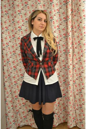 Balckfivecom blazer - Oasapcom shirt - Oasapcom socks - Oasapcom blouse