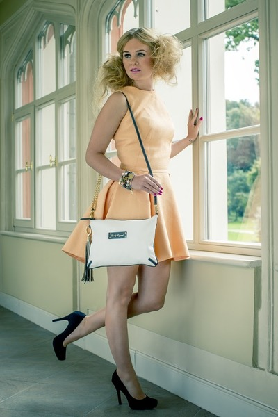 Candy Crystal bag - Viola Piekut dress - Candy Crystal accessories