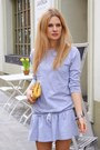 Periwinkle-fashionatapl-dress-navy-zara-jacket-yellow-new-look-bag