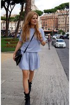 Mysaru skirt - wwwzalandopl Zign boots - Magia Zakupówk bag - Mysaru t-shirt