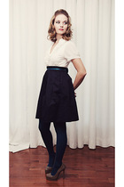 New Navy Skirt