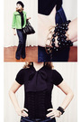 Black-dynamite-blouse-bootlegger-jeans-black-steve-madden-shoes-green-joe-
