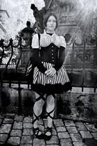 Dracula Clothing intimate - Amber skirt - lindex stockings