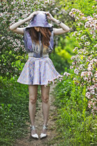 J Koo vest - Jeffrey Campbell heels - J Koo skirt
