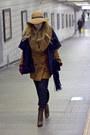 Mustard-cashmere-wool-club-monaco-coat-camel-topshop-hat