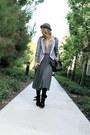 Black-suede-buckled-modern-vintage-boots