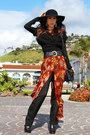 Black-ash-heels-black-arden-b-top-ruby-red-vintage-pants