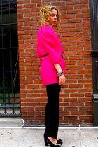 lanvin top - lanvin belt - lanvin shoes - lanvin accessories - Gaultier pants -