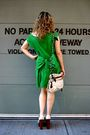 Lanvin-dress-lanvin-necklace-lanvin-purse-chanel-shoes-ysl-sunglasses