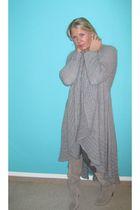 Sisley coat - Zara boots