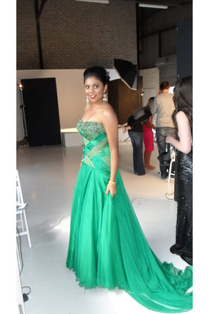 Gert Johan Coetzee dress - cream strapless Gert Johan Coetzee dress