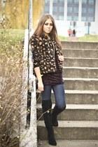 Bata shoes - H&M jacket - Zara pants