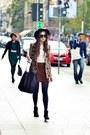 Zara-boots-vintage-hat-united-colors-of-benetton-shirt-tommy-hilfiger-bag