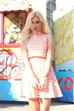 chevron Im Haute top - chevron Im Haute skirt