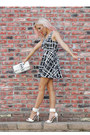 Black-and-white-im-haute-dress-studded-bag-im-haute-purse