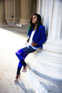 Blue-urbanog-blazer-silver-young-reckless-top-tan-rainbow-heels