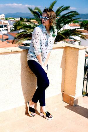 Zara shoes - Stradivarius shirt