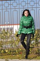 Orwell jacket - baldinini boots - BGN jeans - APANAGE belt