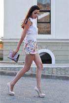 Zara shorts - BGN purse - BGN blouse