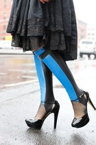 STEE-LETAS™ ELECTRIC BLUE LAMB LEGWEAR