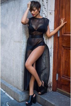 mesh Katerina Lankova dress