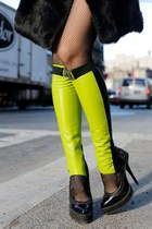 LIME GREEN LAMB LEGWEAR