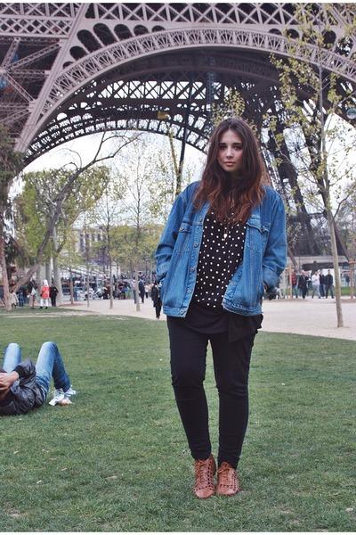 blue jeans Jacket jacket
