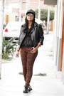 Dark-brown-mossimo-blouse