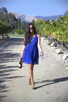 Stella & Dot necklace - romwe dress - Rebecca Minkoff purse - asos sunglasses