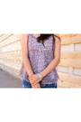 Jean-delias-shorts-chiffon-delias-top-forever-21-bracelet