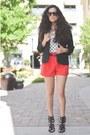 Nordstrom-blazer-forever-21-shorts-forever-21-sunglasses