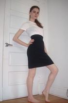 American Apparel shirt - American Apparel skirt