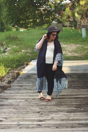 kimono thrifted top
