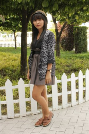 tawny apartment 8 dress - black leopard print Dorothy Perkins blazer